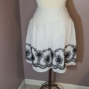 New Skirt in Black and White